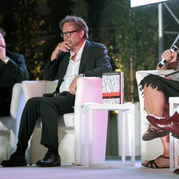 Alessandro Sarteanesi, Massimo Recalcati, Stefania Melandri al MAXXi di Roma
