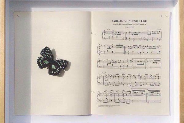 Claudio Parmiggiani - opera dedicata a Magonza