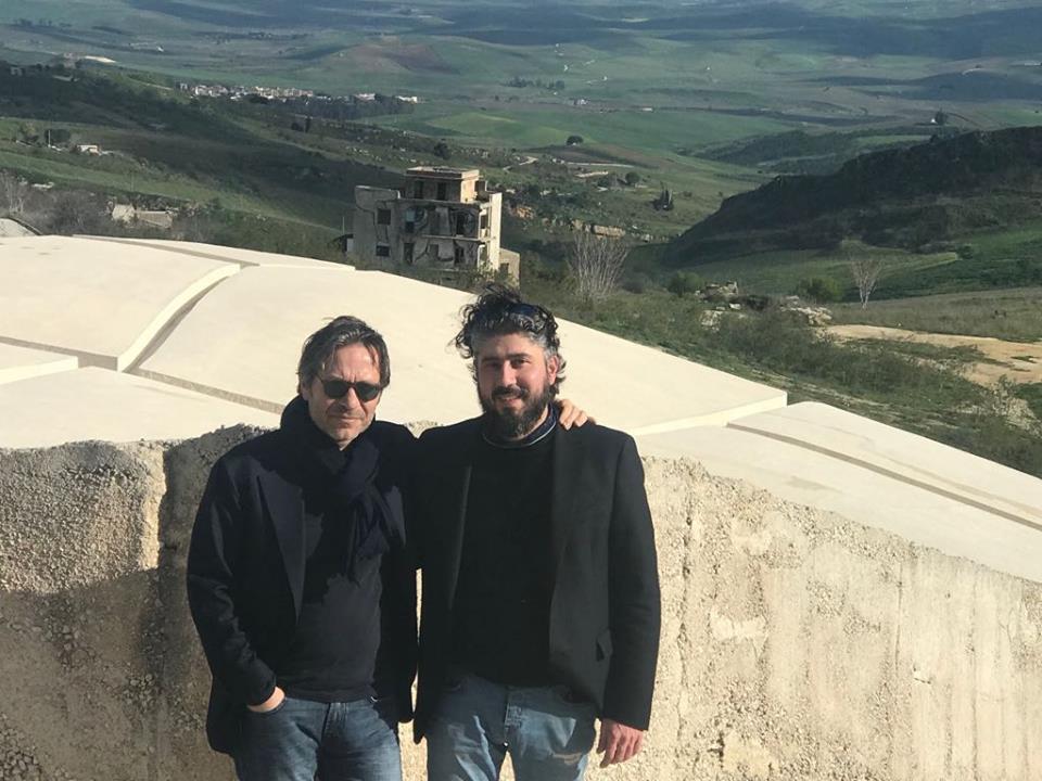 Massimo Recalcati e Alessandro Sarteanesi al Grande Cretto